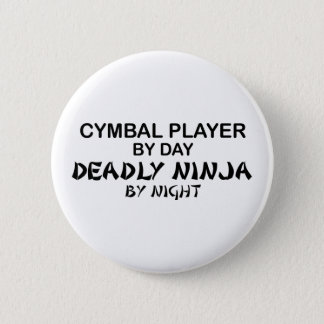 Badges Cymbales Ninja mortel par nuit