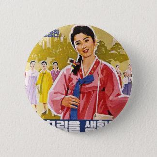 Badges Dames coréennes portant Hanbok