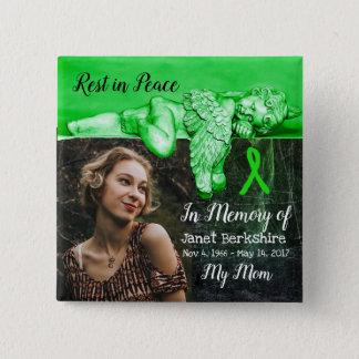 Badges Dans la mémoire de mon bouton de mémorial de Lyme