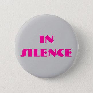 Badges Dans le silence-- gris/rose