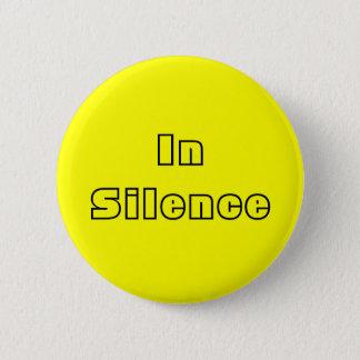 Badges Dans le silence--jaune/noir