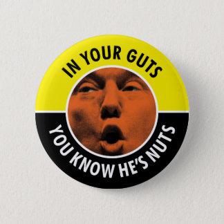 Badges Dans vos entrailles vous savez qu'il est bouton