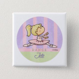 Badges Danse - Jete - considérant de ballet