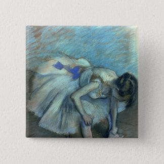 Badges Danseur assis par   d'Edgar Degas, c.1881-83