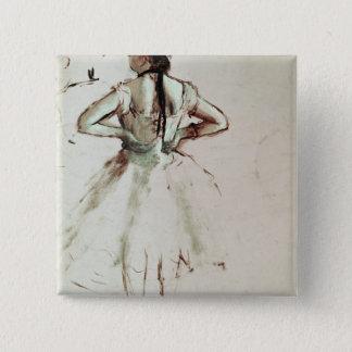 Badges Danseur d'Edgar Degas | vu du dos
