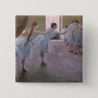Badges Danseurs d'Edgar Degas   à la répétition,