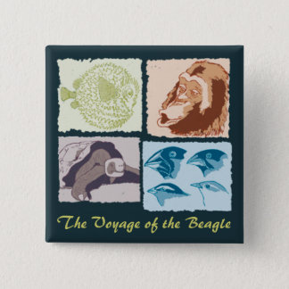 Badges Darwin, The Voyage of the Beagle
