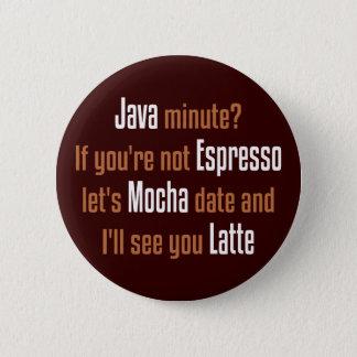 Badges Date drôle de café