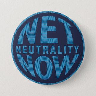Badges De neutralité bleu net maintenant -