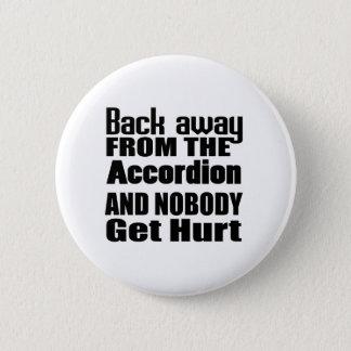 Badges De retour à partir de l'accordéon et de personne