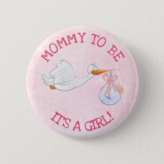 Badges Dentelez son une maman de fille à être bouton de