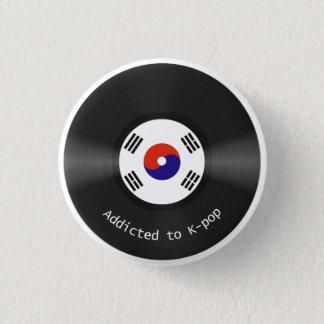 Badges Dépendant au bouton de Kpop