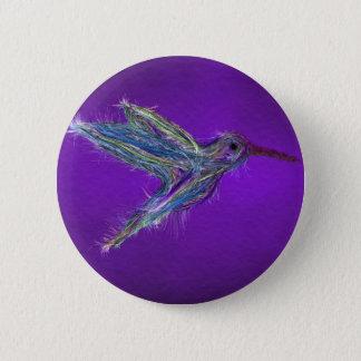 Badges Dessin de colibri