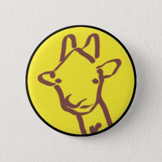 Badges dessin minimaliste de girafe