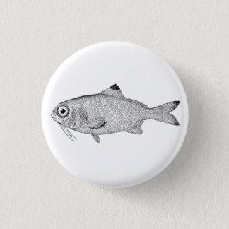 Badges Dessin vintage étrange de poissons