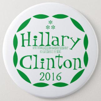 Badges Devenez écolo pour Hillary Clinton en 2016