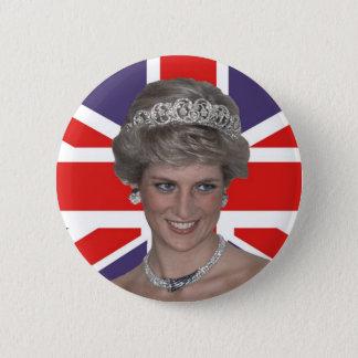 Badges Diana battant pavillon