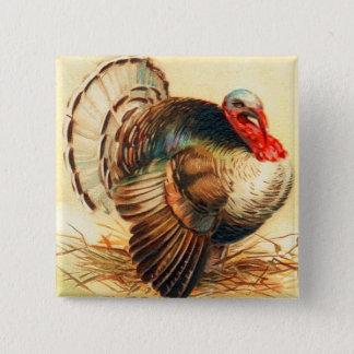 Badges Dindon vintage de dîner de la Turquie de