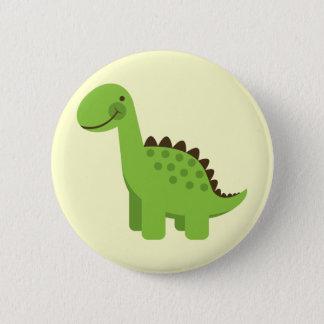 Badges Dinosaure vert mignon