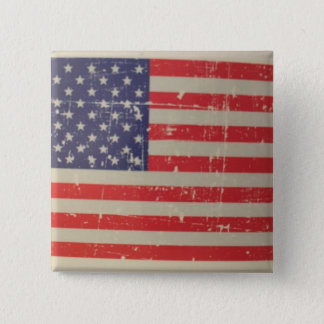 Badges Drapeau américain patiné et affligé des Etats-Unis