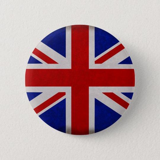 Badges Drapeau Anglais d'Angleterre texturé