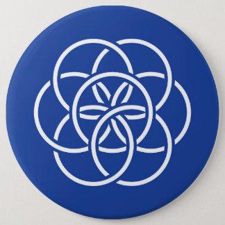 Badges Drapeau de la terre de planète - bouton