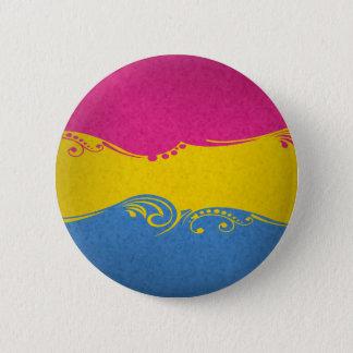 Badges Drapeau ornemental Pansexual