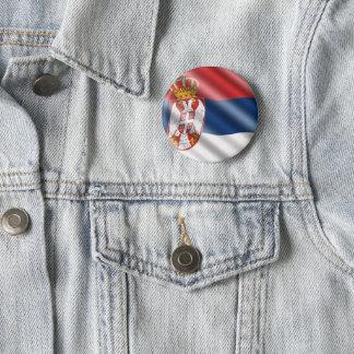 Badges Drapeau serbe