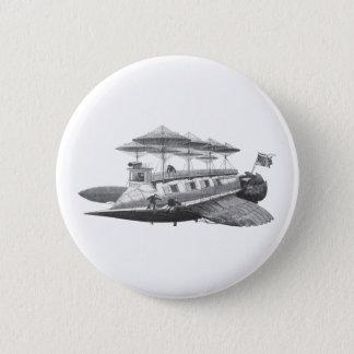 Badges Éclipse vintage de dirigeable de Steampunk de la
