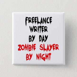 Badges Écrivain indépendant de tueur de zombi