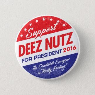 Badges Écrous de Deez pour le président