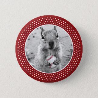 Badges Écureuil de rassemblement de Louis - base-ball