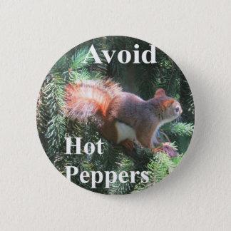 Badges Écureuil rouge de queue