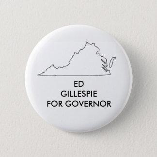 Badges Ed Gillespie pour le gouverneur 2017 de la