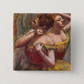 Badges Edgar Degas | deux danseurs