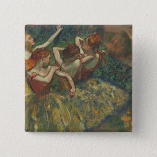 Badges Edgar Degas | quatre saisons dans l'une tête,
