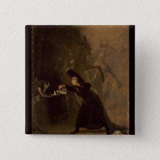 Badges EL Hechizado de Francisco Jose de Goya y Lucientes