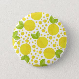 Badges Éléments et citrons floraux tirés par la main