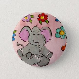 Badges Éléphant dans la méditation