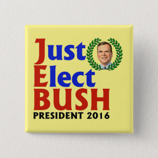Badges Élisez juste Bush en 2016
