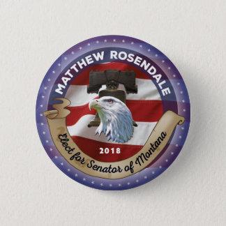 Badges Élisez Matthew Rosendale pour le sénateur du
