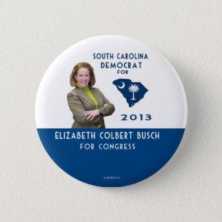 Badges Elizabeth Colbert Busch pour le bouton du congrès