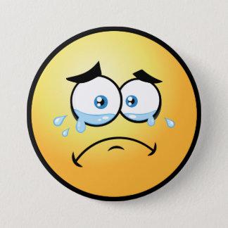 Badges Emoji pleurant grand