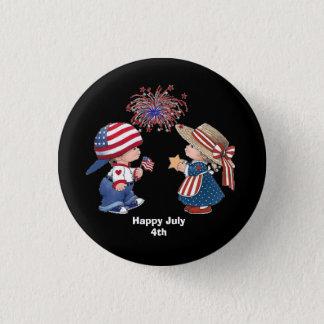 Badges Enfants Animated du 4 juillet