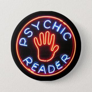 Badges Enseigne au néon psychique de lecteur