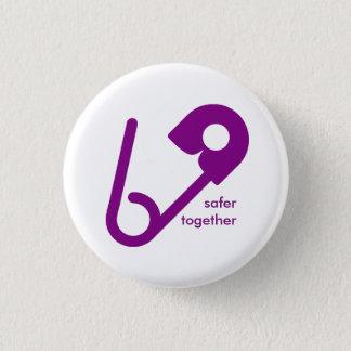 Badges Ensemble des boutons plus sûrs de goupille de