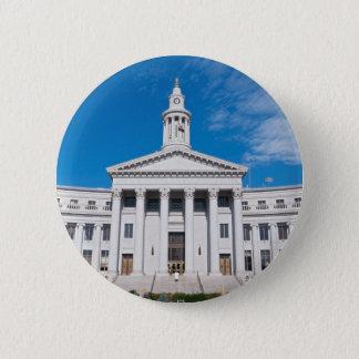 Badges Entrée de bâtiment de ville et de comté de Denver