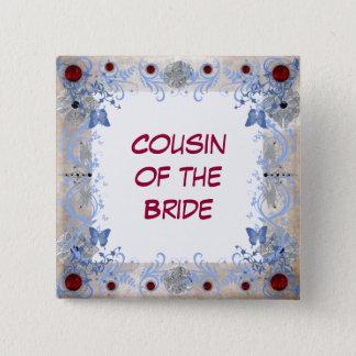 Badges Épouser d'art déco de rubis