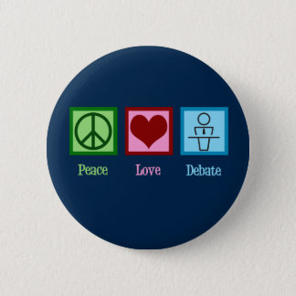Badges Équipe de discussion d'amour de paix