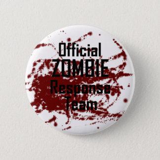 Badges Équipe officielle sanglante de réponse de zombi